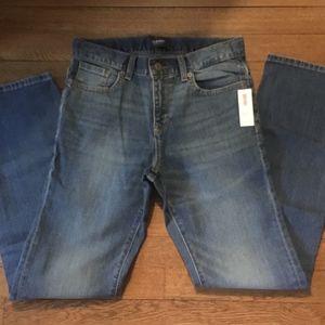 Old Navy Boys Straight Leg Jeans NWT Size 12